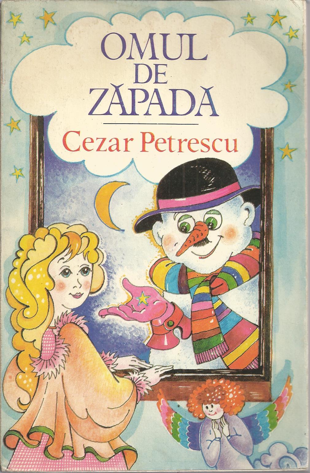 Omul De Zapada Carte.Omul De Zapada Cezar Petrescu